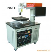 Fiber laser scribing cell machine